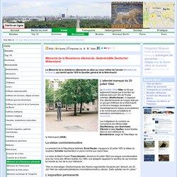 Monuments de Berlin, Mémoriaux, Mémorial de la Résistance allemande, Gedenkstätte Deutscher Widerstand, L'attentat manqué du 20 juillet 1944, La statue commmémorative, L'exposition permanente