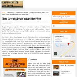 Three Surprising Details about Gullah People