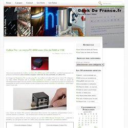 CuBox Pro : un micro-PC ARM avec 2Go de RAM à 119€