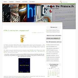 Blog Archive » HTML 5, c'est trop bien – engagez-vous! - Framasoft Framafox
