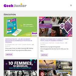 Geek Junior-Éducation Archives
