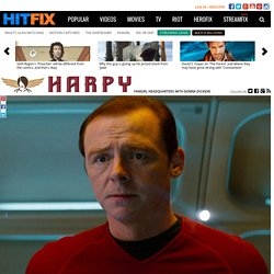 How did a sci-fi geek like Simon Pegg miss the point of sci-fi so badly?