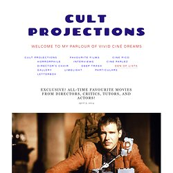 Geeking out — Cult Projections