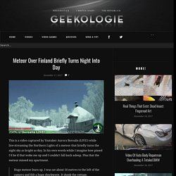 Geekologie | Gadgets, Gizmos and Awesome