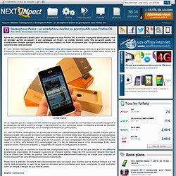 Geeksphone Peak+ : un smartphone destiné au grand public sous Firefox OS - PC INpact