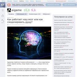 Как работает наш мозг или как смоделировать душу? / Geektimes