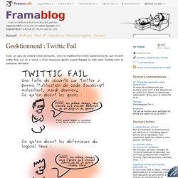 Twittic Fail