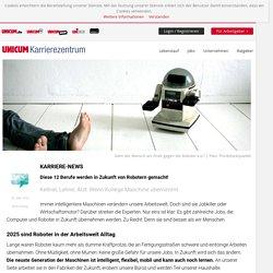 Gefährdete Jobs: Berufe, die Roboter in Zukunft machen