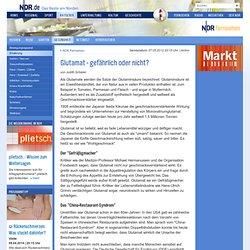 Glutamat - gefährlich oder nicht? | NDR.de - Ratgeber - Gesundheit - Ernährung