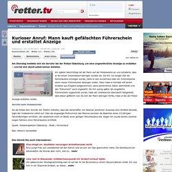 Oldenburg - Kurioser Anruf: Mann kauft gefälschten Führerschein und erstattet Anzeige - Die Polizei auf retter.tv - retter.tv