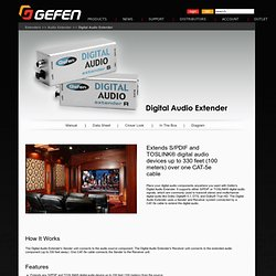 LLC - Digital Audio Extender