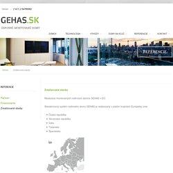 Gehas - Zrealizované stavby