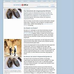 Das Geheimnis der eingemauerten Schuhe