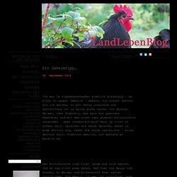 LandLebenBlog – Notizen aus der Provinz