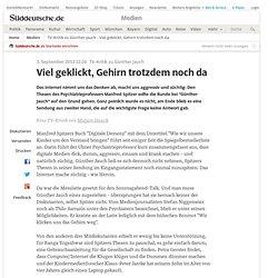 TV-Kritik zu Günther Jauch - Viel geklickt, Gehirn trotzdem noch da - Medien