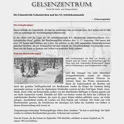 Gelsenkirchen - Linnenbrink Gelsenkirchen und das SS-Arbeitskommando K.L. Buchenwald, Gelsenkirchen-Horst