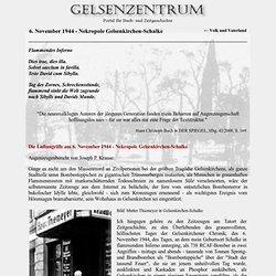 Gelsenkirchen - 6. November 1944 - Nekropole Gelsenkirchen-Schalke