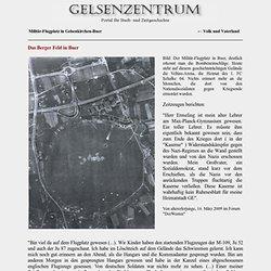 Militär-Flugplatz in Gelsenkirchen-Buer