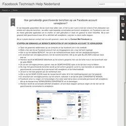 Hoe gearchiveerde berichten op Facebook te verwijderen?