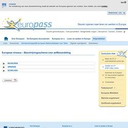 Gemeenschappelijk Europees Referentiekader voor Talen