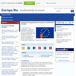 Gemeenschappelijk Europees asielbeleid (CEAS)