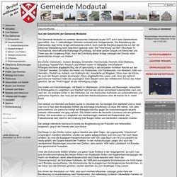 Gemeinde Modautal - Geschichtliches