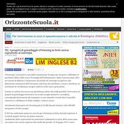 TIC. I progetti di gemellaggio eTwinning in forte ascesa soprattutto al Sud Italia