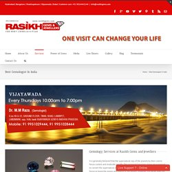 Best Gemology Services At Rakish Gems And Jewellers in India