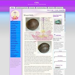 Crystals & Gemstones for Healing & Transformation - Moqui Balls.
