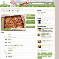 Julies feine Gemüselasagne (Rezept mit Bild) von CookingJulie