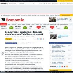 Le nouveau «gendarme» français des télécoms officiellement investi