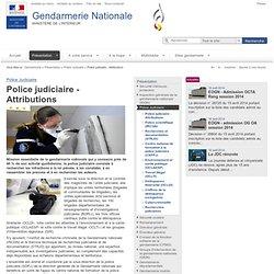 Police judiciaire - Attributions