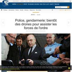 Police, gendarmerie: bientôt des drones pour assister les forces de l'ordre