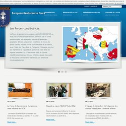 Site EUROGENDFOR