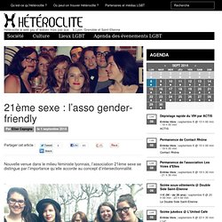 21ème sexe : l'asso gender-friendly - Heteroclite