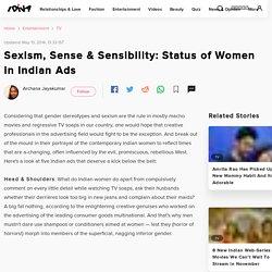 Gender Bias in Indian Ads