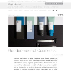 Gender-neutral Cosmetics