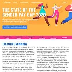 Gender Pay Gap Statistics for 2020