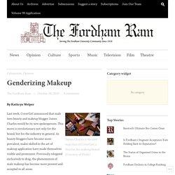 Genderizing Makeup