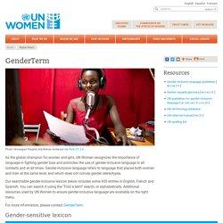 GenderTerm: Gender-inclusive language