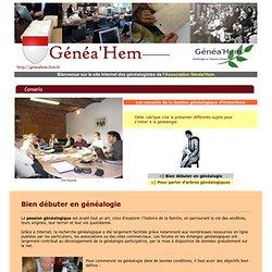 Genea'Hem, Généalogie et Histoire d'antan à HEM