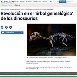 Revolución en el 'árbol genealógico' de los dinosaurios