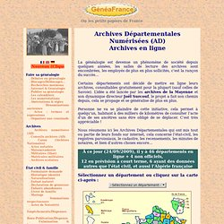 Genealogie - Geneafrance