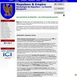 Généalogie Napoléon famille Buonaparte