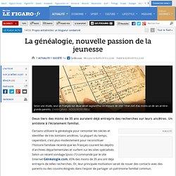 La généalogie, nouvelle passion de la jeunesse