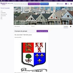 GeneaBRAY : Généalogie en pays de Bray