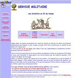 notes sur le serv. militaire (Pixis)