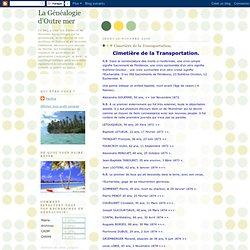 Cimetière de la Transportation.