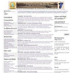 Société Généalogique du Lyonnais et du Beaujolais