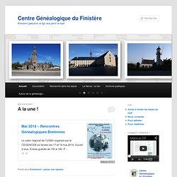 Centre généalogique du Finistere